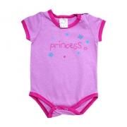 Body Bebê Princess Lilás