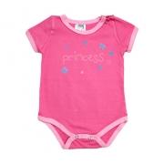 Body Bebê Princess Pink