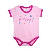 Body Bebê Princess Rosa