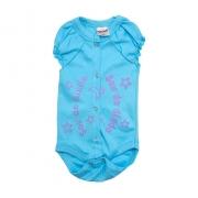 Body Bebê Sou Do Dindo Azul Lilás