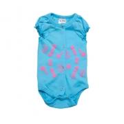 Body Bebê Sou Do Vovô Azul com Rosa
