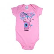 Body Bebê Sweet Rosa