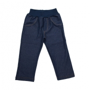 Calça Infantil Cotton Jeans Menina Marinho