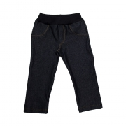 Calça Infantil Cotton Jeans Preto