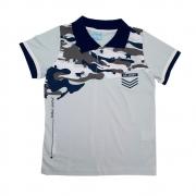 Camisa Juvenil Gola Polo Cinza