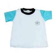 Camiseta Bebê Good Vibes Branca