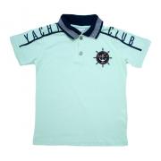 Camiseta Infantil Gola Polo Club Verde