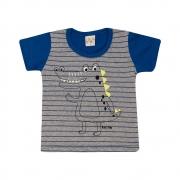 Camiseta Infantil Jacaré Royal