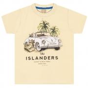 Camiseta Infantil / Juvenil Fusca  Amarela