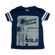 Camiseta Infantil Kombi Marinho