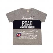 Camiseta Infantil Road Mescla
