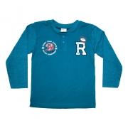 Camiseta Infantil Rugby Verde
