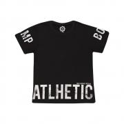 Camiseta Juvenil Atlhetic Preto