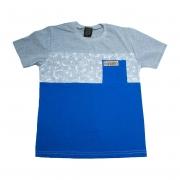 Camiseta Juvenil Folhagem Mescla