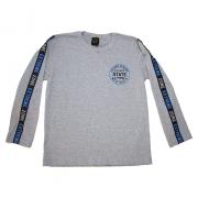 Camiseta Juvenil Manga Longa State Mescla