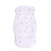 Capa Para Bebê Conforto e Carrinho Fada Branca