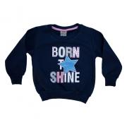 Casaco Infantil Born Shine Marinho