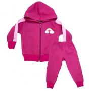 Conjunto Bebê Arco Íris  Pink