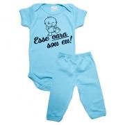 Conjunto Bebê Body e Calça Urso Pérola