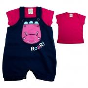 Conjunto Bebê Dina Marinho e Pink