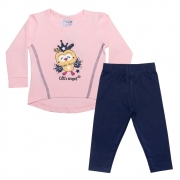 Conjunto Bebê Little Angel Rosa