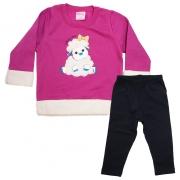 Conjunto Bebê Ovelhinha Pink