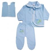 Conjunto Bebê Pagão Azul