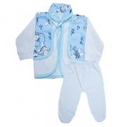 Conjunto Bebê Pagão  Branco
