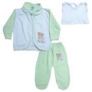 Conjunto Bebê Pagão Verde