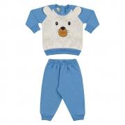 Conjunto Bebê Ursinho Azul