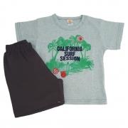 Conjunto Camiseta Califórnia Verde