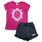 Conjunto Infantil Bailarina Pink