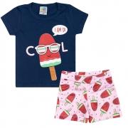 Conjunto Infantil Cool Marinho