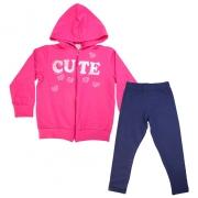 Conjunto Infantil Cute Pink