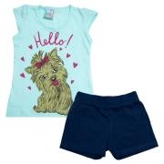 Conjunto Infantil Dog Verde