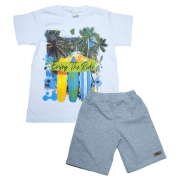 Conjunto Infantil Enjoy The Ride Branco