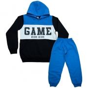 Conjunto Infantil Game Azul