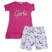 Conjunto Infantil Girls Pink