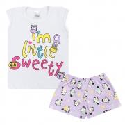 Conjunto Infantil Little Sweety Branco
