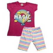 Conjunto Infantil Magic Pink