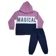 Conjunto Infantil Magical Marinho