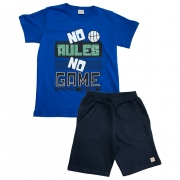 Conjunto Infantil No Rules Royal