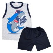 Conjunto Infantil Shark Mescla