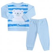 Conjunto Infantil Soft Ursinho Azul