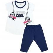Conjunto Infantil Super Cool Branco