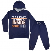 Conjunto Infantil Talent Inside Marinho