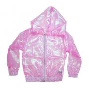 Jaqueta Infantil Corta Vento Rosa Furta Cor