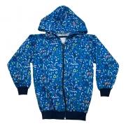 Jaqueta Infantil Sublimada Azul