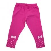 Legging Infantil Laço Pink