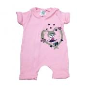 Macacão Bebê Menina  Rosa